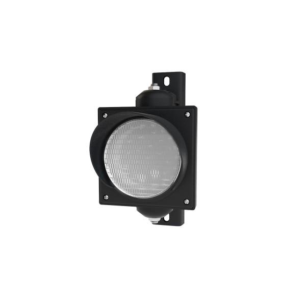 Ampel mit 100 mm weißen LED-Modul und einstellbarer Halterung