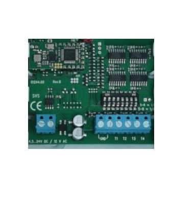 Sende-Platine mit 4 Kanälen zur Fernbedienung von Funk-Ampeln.