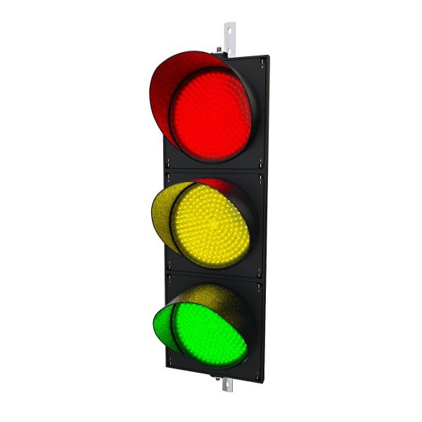 Funk-Ampeln mit 400 mm LED-Modulen rot/gelb/grün zur Funk-Fernbedienung