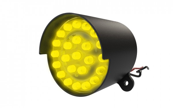 Mini-LED-Ampel-Modul 50mm, gelb