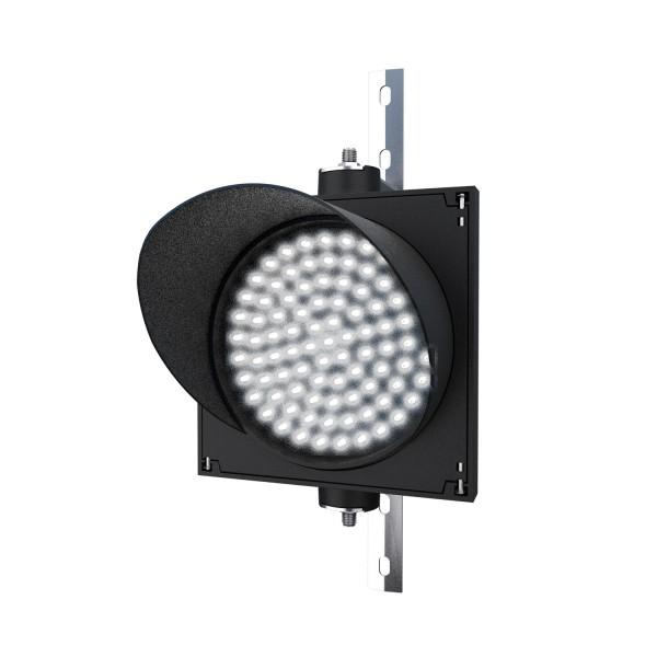 Ampel mit 200 mm weißem LED-Modul und einstellbarer Halterung
