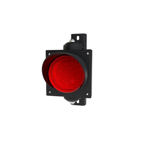 Ampel mit 100 mm rotem LED-Modul und einstellbarer Halterung